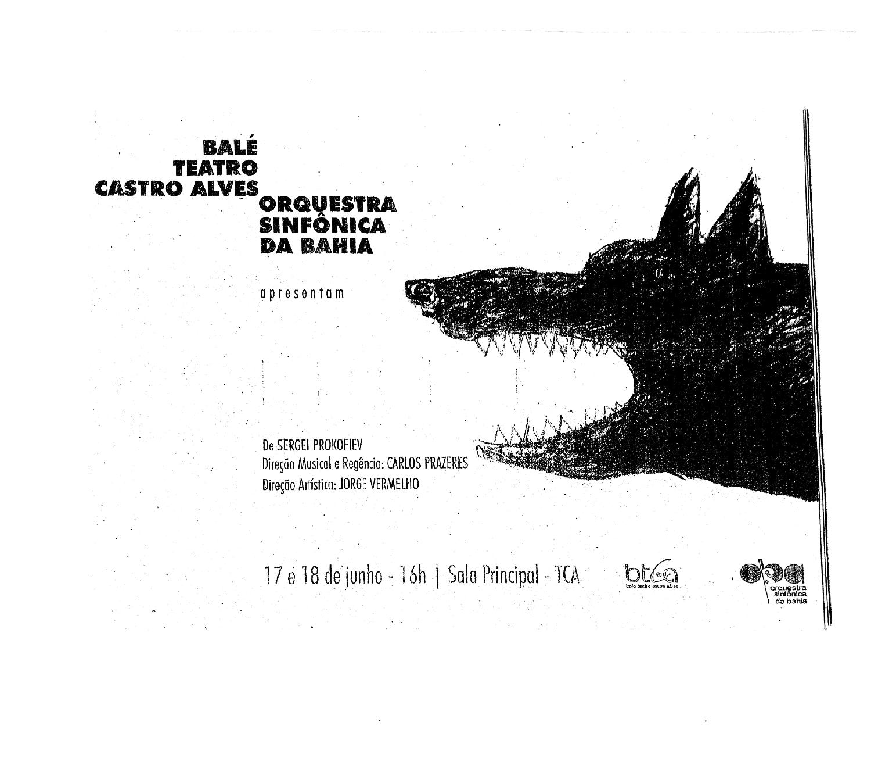 Pedro e o Lobo - BTCA/OSBA - 2016